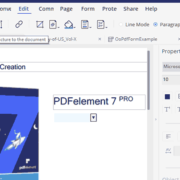 Wondershare Pdf Element 7 Pro Create