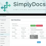 Simplydocs Workflow Builder