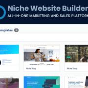 3 Construtor de sites de nicho Lifetime Deal Ltdhunt